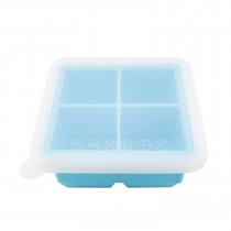 Silicone Baby Food Freezer Tray- 4X Cup - Blue