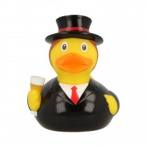Bath Toy-Mini Groom Rubber Duck-Black