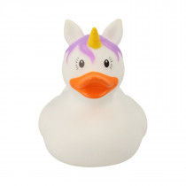 Bath Toy-Mini  Unicorn Duck -White