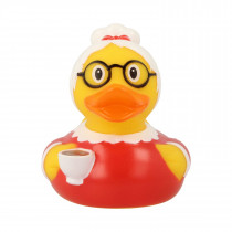 Bath Toy-Grandma Duck -Red