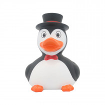 Bath Toy-Penguin Duck - Black/White