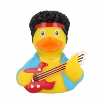 Bath Toy-RockStar Duck- Blue/yellow