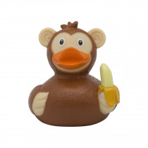 Bath Toy-Monkey  Duck-Brown