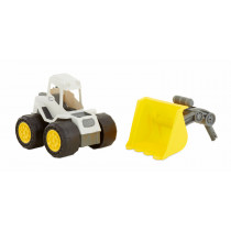 Dirt Diggers Asst Wave 1-Front Loader - Yellow