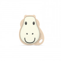 Matchstick Monkey Flat Face Teether - Giraffe