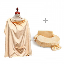 Super Deluxe Pillow and Nursing Cover - Super Deluxe Gold