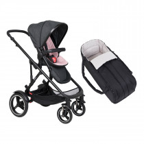 Voyager Buggy & Cocoon Package - Blush
