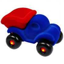 Soft Baby Educational  Toy -Cleanupper the Dump Truck Large-Blue