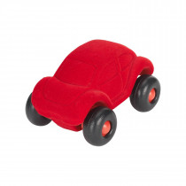 Soft Baby Educational Toy-The Little Beetle Car - Red