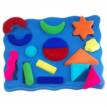 Soft Toy-3D Shape Sorter Geometrical Shapes