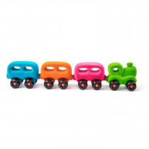 Soft Baby Educational Toy-The Little Wholedout Train & Coach
