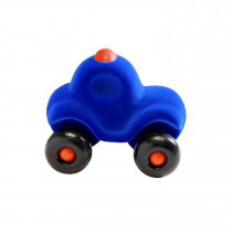 Soft Baby Educational Toy-Little Motown Police Car - Blue