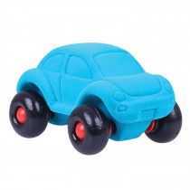 Soft Baby Educational Toy-The Little Beetle Car - Turqoise