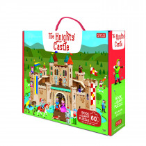 Giant Puzzle And Book-The Knights' Castle