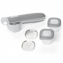 Easy-Prep Food Press Set Grey - Grey