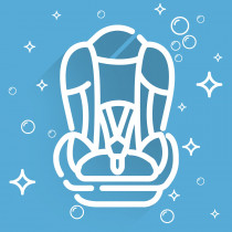 Sparkle VIP for Car Seat - Toddler Car Seat