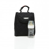 Storksak FAB Bag (Food and Bottle Bag) Quilted -Black