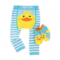 Comfort Crawler Babies Legging and Sock set - Puddles the Duck