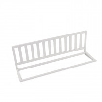 Bed Rail 120cm Beech-White