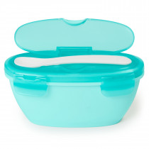 Easy Serve Travel Bowl & Spoon -Teal