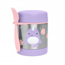 Zoo Food Jar -Narwhal