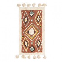 Cotton Rug Multi-Color 120 x 65 cm