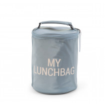 My Lunch Bag Grey Off White