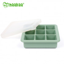 Silicone Freezer Tray - 9X - Pea Green