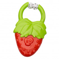 VIBRATING TEETHER - Strawberry