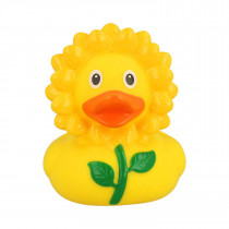 Bath Toy-Sunflower Duck -Yellow