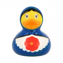Bath Toy-Babushka Duck -Blue