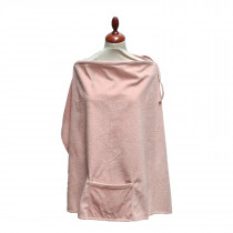 Deluxe Nursing Cover - Soft Rose
