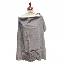 Deluxe Nursing Cover - Evening Grey