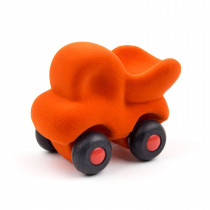 Soft Toy-Cleanupper The Little Dump Truck - Orange