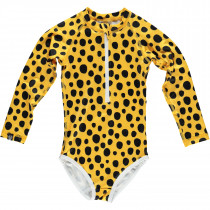Boxfish Swimsuit Burnt - Yellow