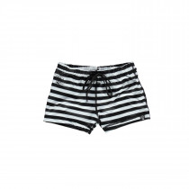 Bandit Swimshort - Black/White