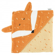 Hooded towel (75cm x 75cm) - Mr. Fox