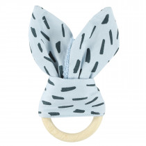 Teether Rabbit - Blue Meadow