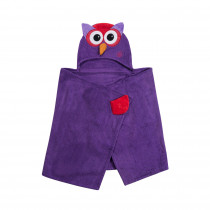 Hooded Towel - Olive the Owl