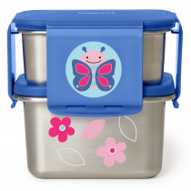 Stainless Steel Lunch Kit - Butterfly