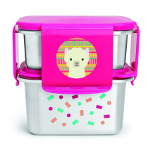 Zoo Stainless Steel Lunch Kit Llama