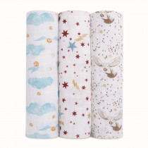 Classic 3-Pack Swaddles - Harry Potter