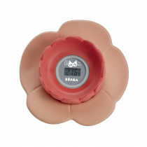 Lotus Multi-Functional Bath Thermometer - Nude/Coral
