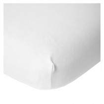 Tipi Bed -  Fitted Sheet 90x200cm  - White