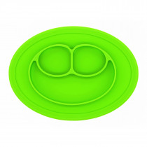 Plate Oval Green