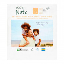 Naty By Nature Nappies  - Size 5 -  11-25Kg -  (22pcs)