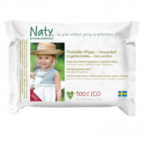Flushable Wipes - Unscented