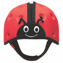 Soft Helmet For Babies Learning To Walk - Ladybird Red