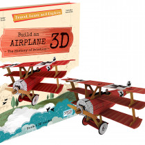 Travel, Learn And Explore 3D - Build An Airplane