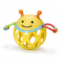 Explore & More Roll Around Rattle - Bee